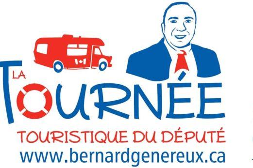 Une première tournée estivale ambitieuse pour Bernard Généreux