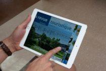 La revue touristique disponible en format tablette