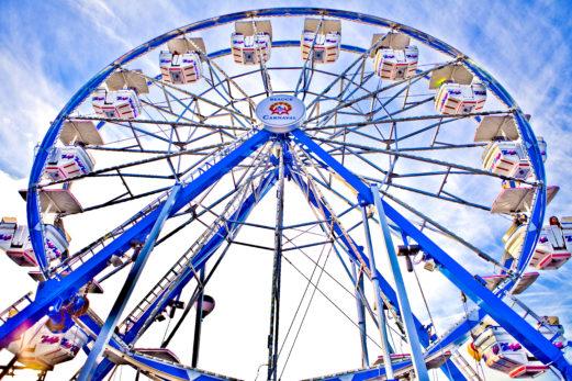 Une grande roue panoramique pour l'Halloween