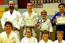Bon départ pour l'équipe de judo Élite-Dynaco