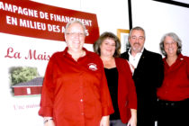 Campagne de financement pour la Maison d'Hélène