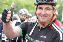 Pierre Daigle porte-parole du Défi Vélo André-Côté