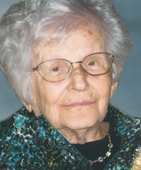 Cécile Tardif  Sainte-Hélène  (1914-2017)