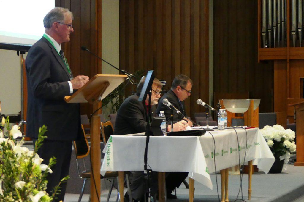 720000$ en retour aux membres et à la collectivité de la Caisse de l'Anse de La Pocatière