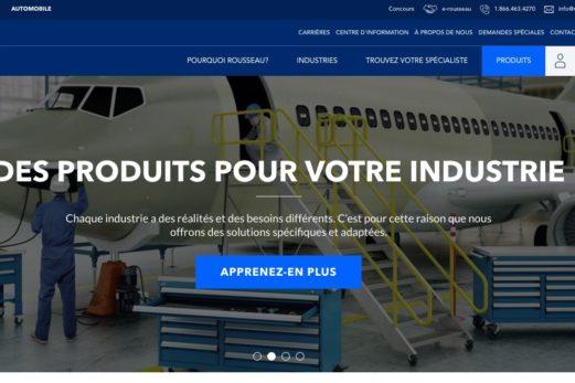 Le site web de Rousseau Métal récompensé