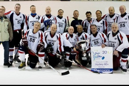 Hockey60 La Pocatière champion