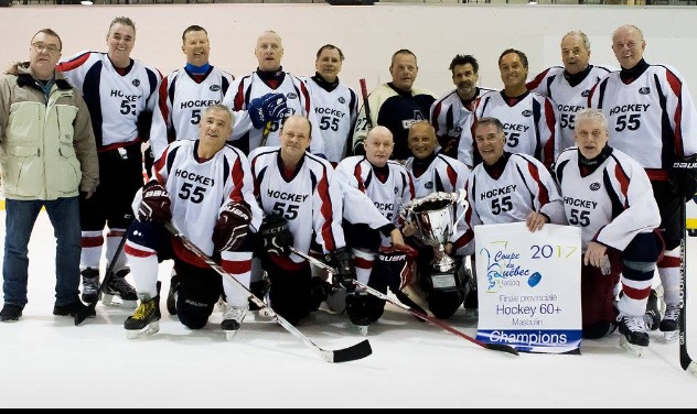 Hockey 60 La Pocatière champion