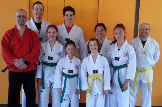 Le Club Taekwondo Bas-Saint-Laurent termine sa session de printemps en beauté