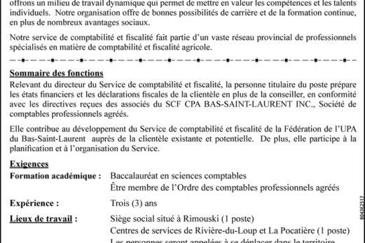 COMPTABLE PROFESSIONNEL AGRÉÉ