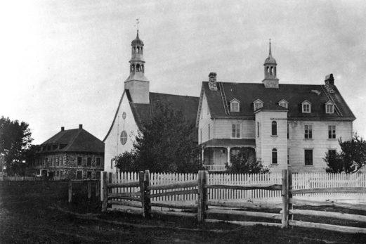 Les presbytères de Rivière-Ouelle