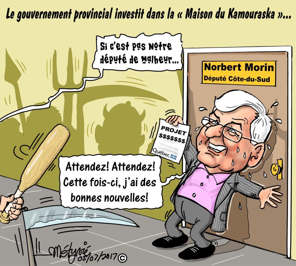 Dans la mire de Métyvié… l'annonce de la nouvelle Maison du Kamouraska