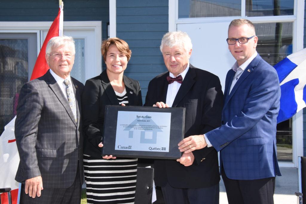 Huit nouveaux logements abordables à Saint-André