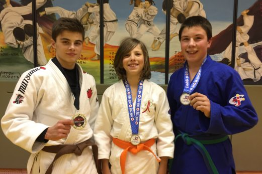 Judo : Jasmin Bélanger champion pour l'est du Canada