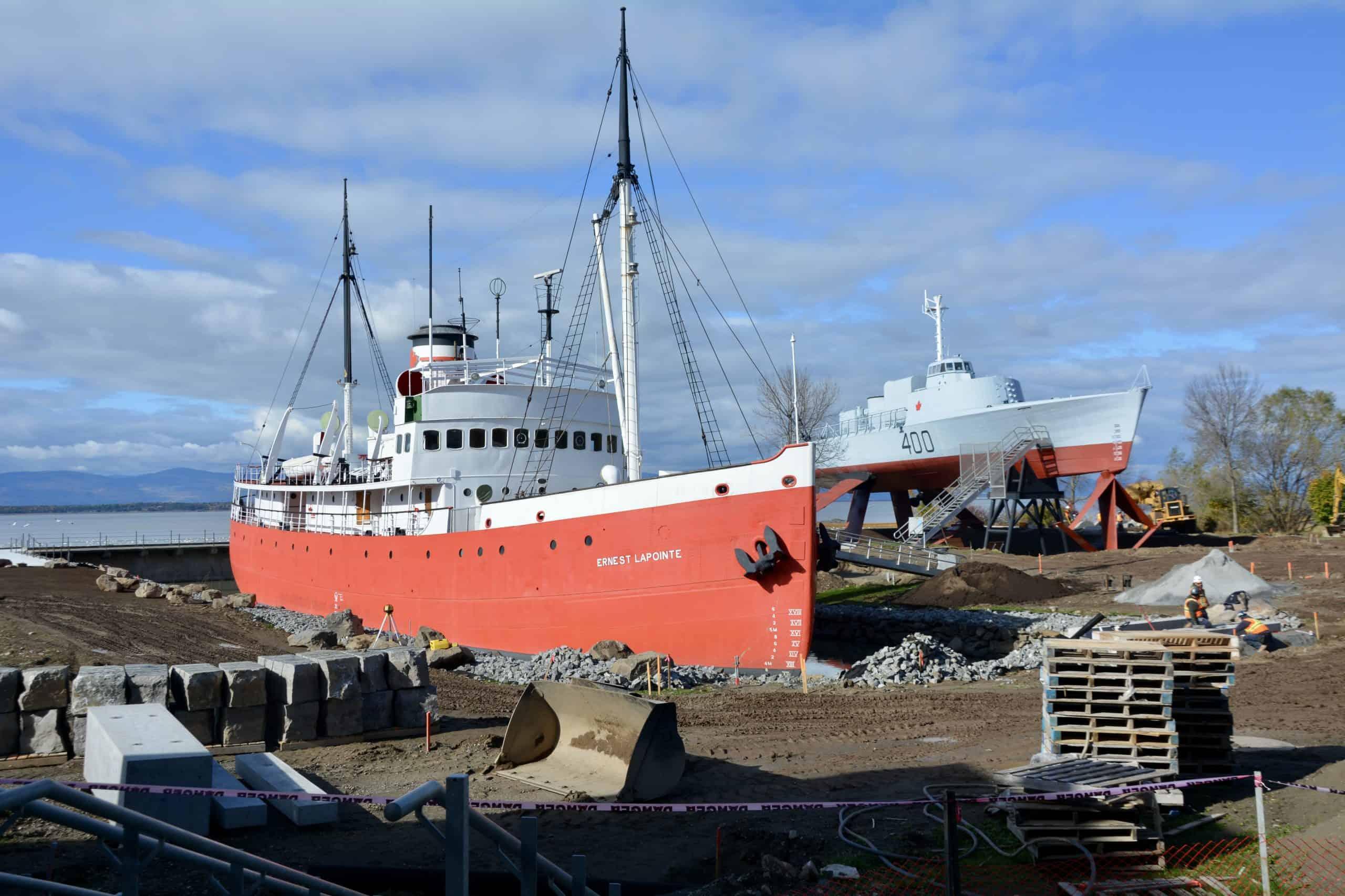Musée maritime du Québec : Dernier droit de la campagne de financement populaire