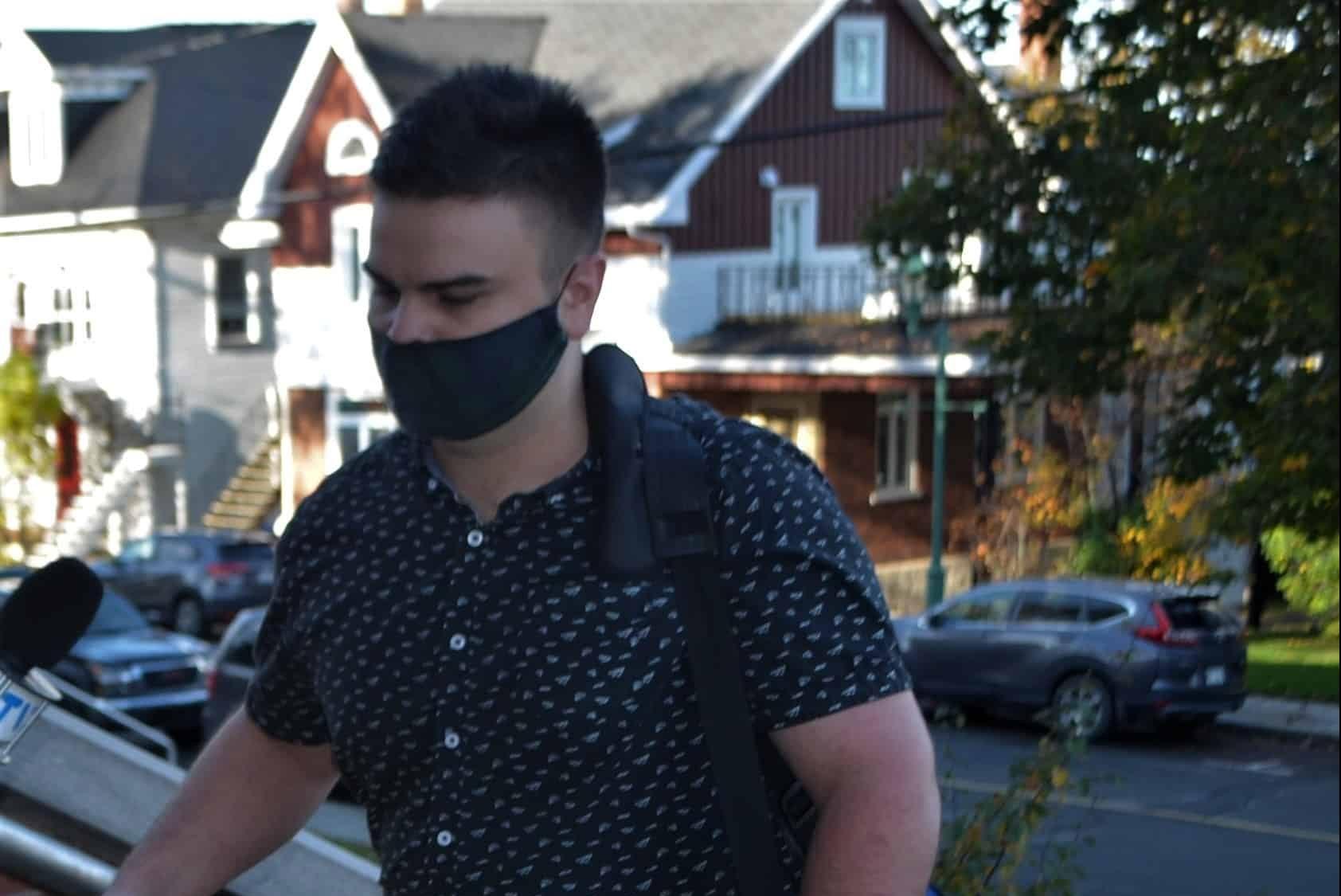 Deux ans moins un jour de prison pour Kevin St-Onge